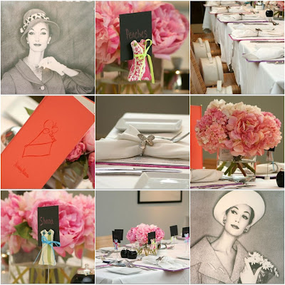 Vintage Bridal Shower Ideas on Lemiga  Shopping Theme Bridal Shower
