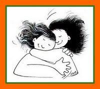 Un abrazo de la Srta Jara y de Mafalda
