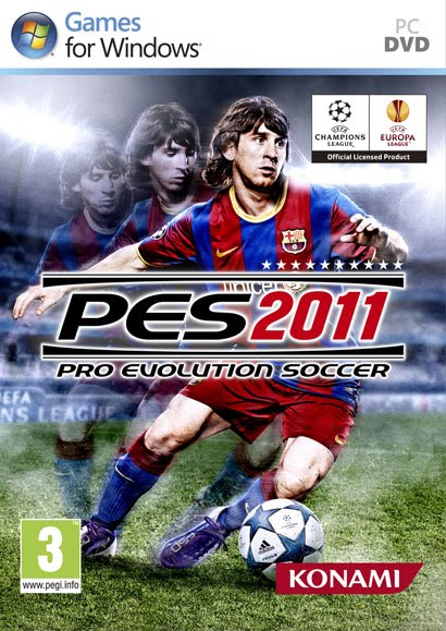 PC Pro Evolution Soccer 2011 + Crack + Serial + Tradução 2010 Completo