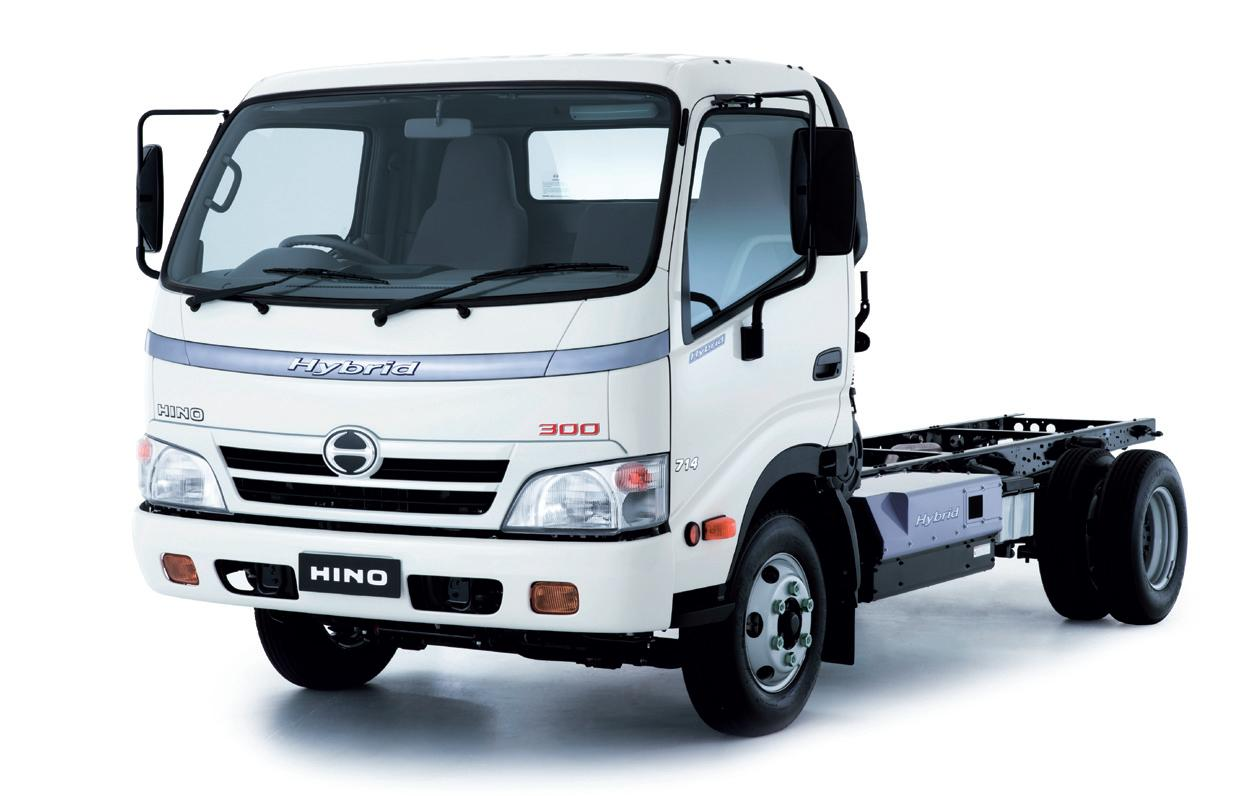 Commercial Truck Success Blog: Hino 300 Series Hybrid Tilt Cab