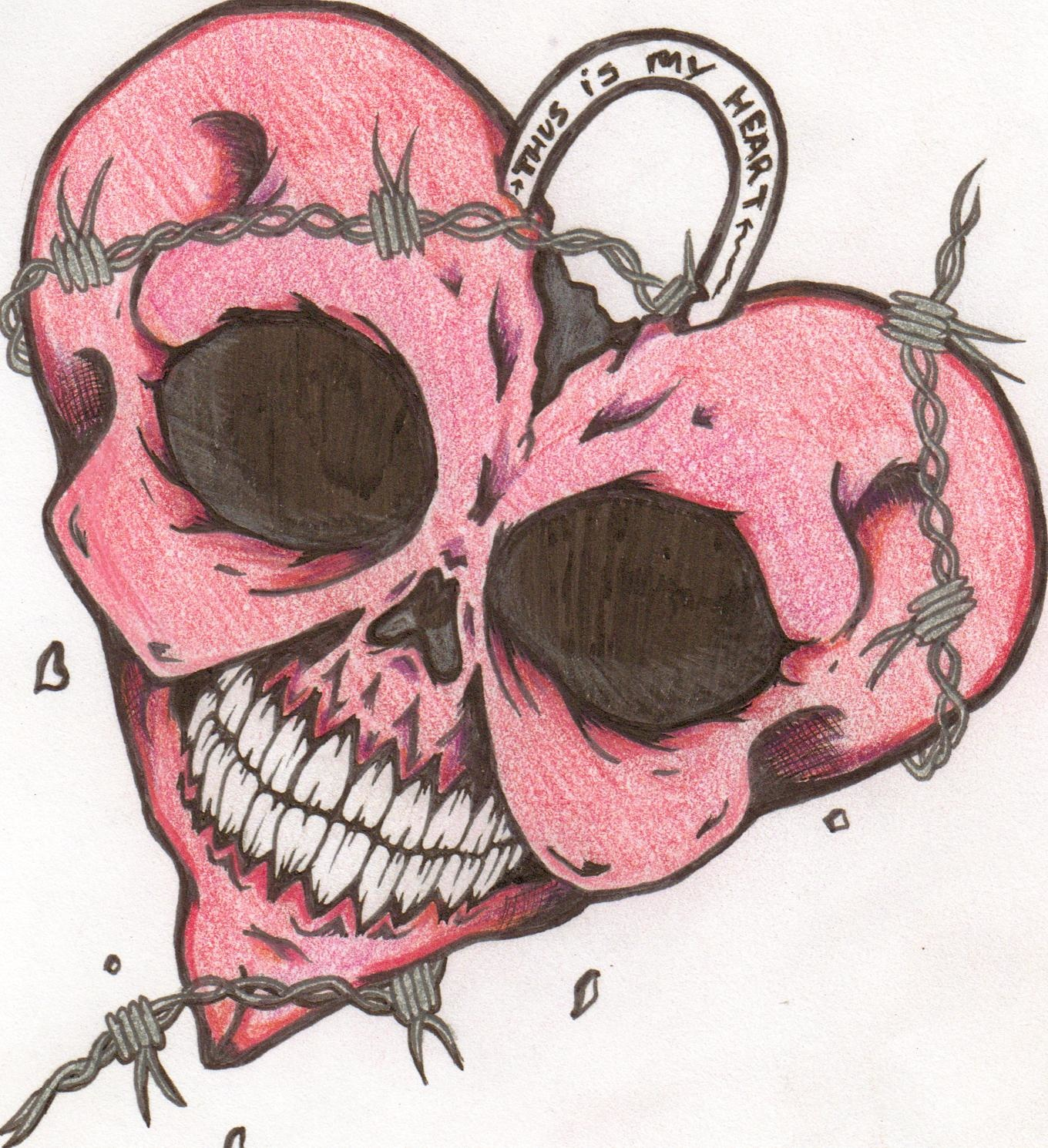 How To Draw A Dead Heart
