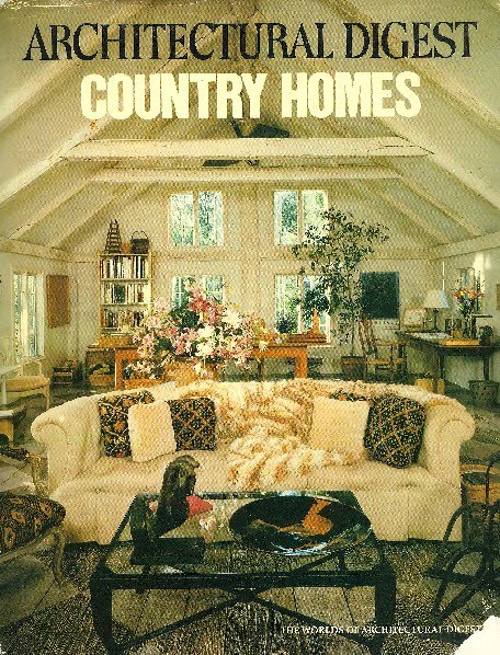 Alan Rosenberg 39 S Books Architectural Digest Country Homes