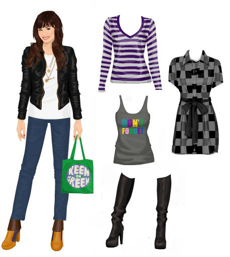 Paper dolls- I've found a really cool way to make paper dolls that look like ...