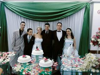 Casamento Wellington e Patrícia - 27/Set/2008