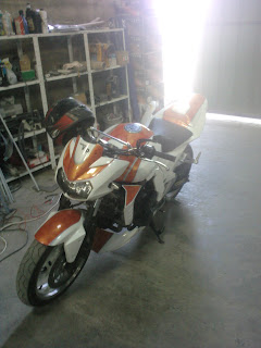 The Tuning Company Blog Officiel Z750 Peinture Perso Finie