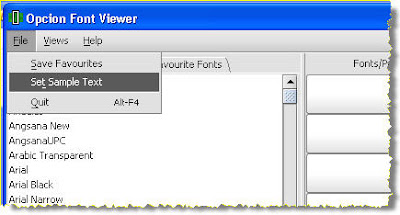 Free font viewer