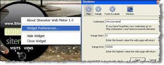 sitemeter widget code