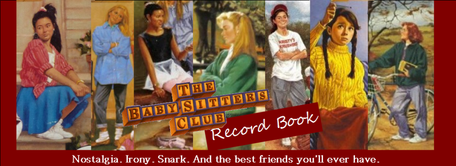 Baby-sitters Club Record Book