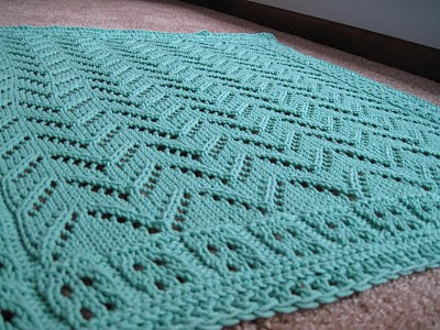 Car Seat Blanket Knitting Pattern : Knitting Like Crazy: Car Seat Blanket for Baby Rambo