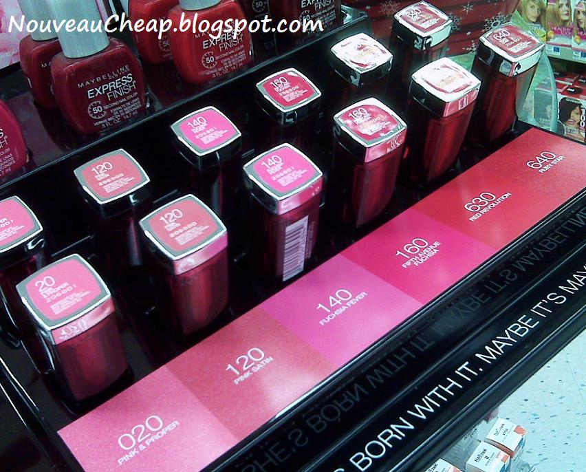 A closer look at the new Maybelline Color Sensational Reds ...