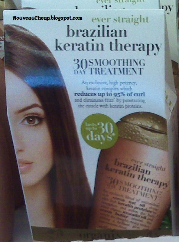 New Organix Brazilian Keratin Therapy & Moroccan Argan Oil collections ...