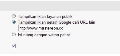 mengatasi munculnya PSA pada Google Adsense