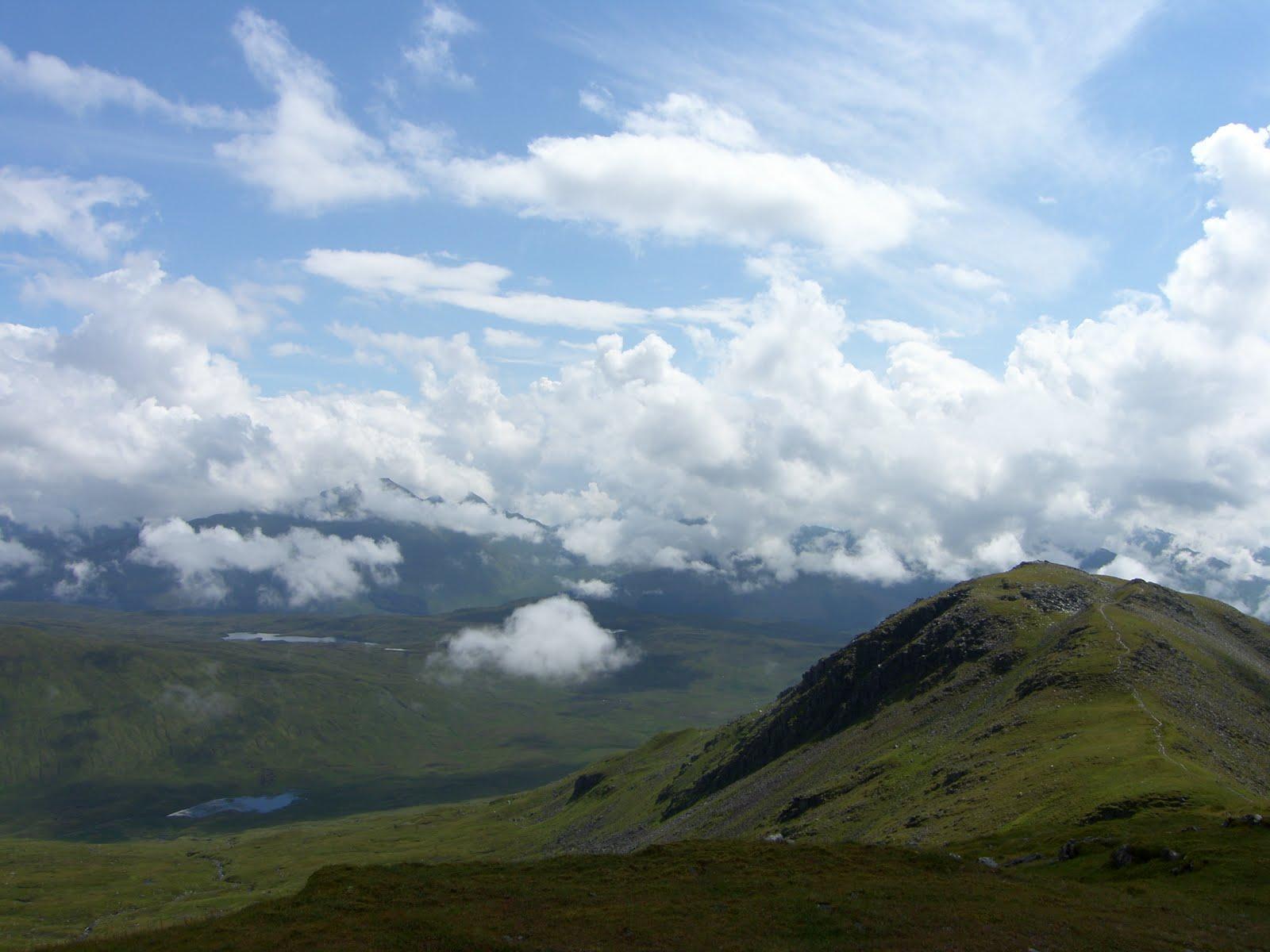 Cottages Scotland Walk Ben Challum Crianlarich Scotland
