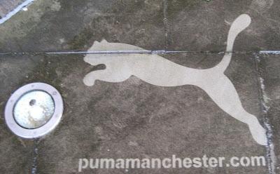Puma Ad Graffiti