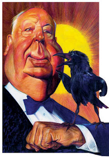 Alfred Hitchcock by Andres Cascioli