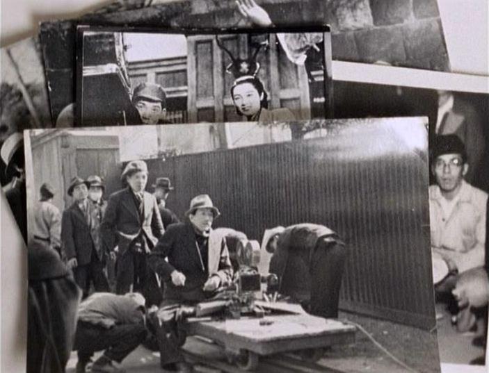 ... de Tokyio-Ga , de Wim Wenders. (Fotografias de Ozu a trabalhar