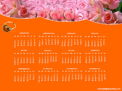 desktop calendar wallpaper. Desktop Calendar 2010, Free