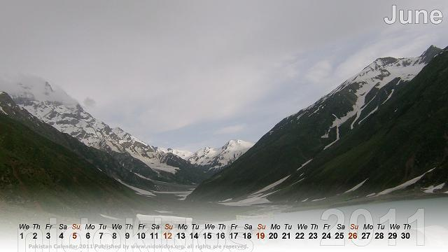 june 2011 calendar wallpaper. Nature Scenes Calendar June