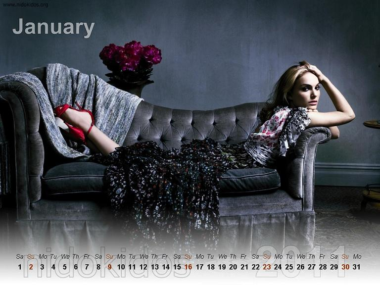 desktop wallpaper 2011 calendar. Portman Desktop Wallpapers