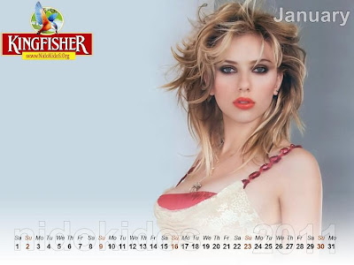 New Year 2011 Calendar, Hot Girls Desktop Wallpapers