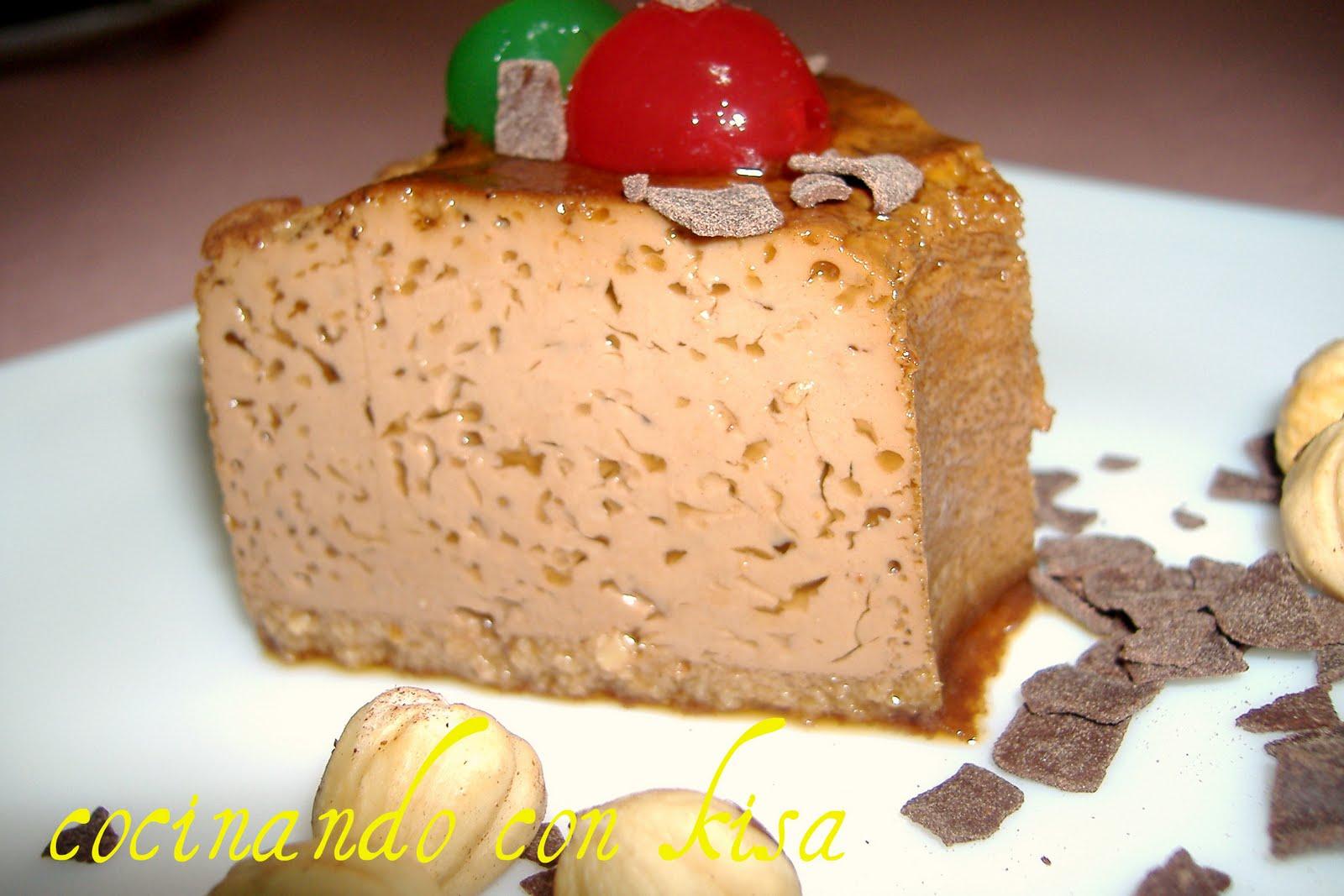 Cocinando con kisa flan de nuttela con avellanas y caf for Cocinando con kisa