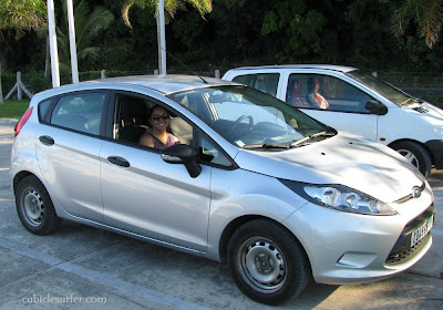 Ford Rental Car, Moorea French Polynesia