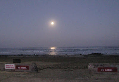 La Jolla Shores Full Moon Morning Surf