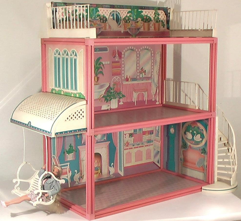 Kirinilas brinquedos antigos show de casa da barbie - Supercasa de barbie ...