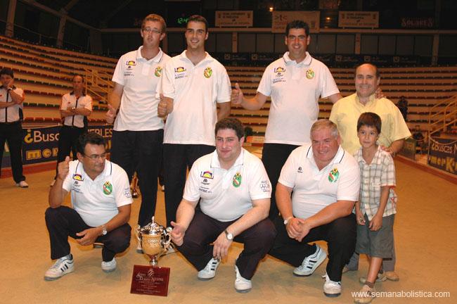 Pª Bª CÓBRECES, EQUIPO CAMPEÓN COPA F.E.B. 2009
