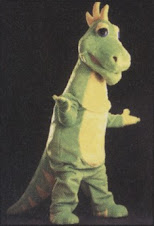 Dizzy Dinosaur Mascot Costumes