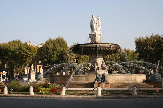 Les monuments de france aix en provence - Bureau de poste la rotonde aix en provence ...