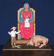 Talla en Madera de la Virgen de la Monserrate de Hormigueros