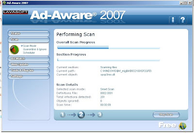 Ad-aware 2007 Spyware Adware Remover