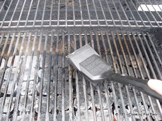 Prep grill by cleaning, oiling and preheating