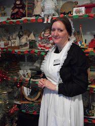 Me dressed as a maid in the Toys and Games room