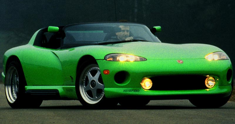 Dodge Viper Wallpaper. A newly designed Dodge Viper