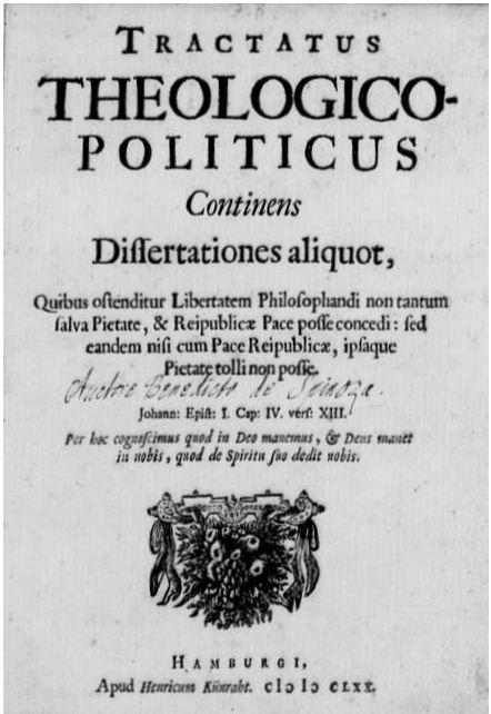 Spinoza Tractatus Theologico-Politicus