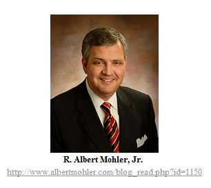 R. Albert Mohler, Jr. is the president of Southern Baptist Theological Seminary
