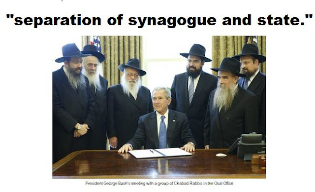 """separation of synagogue and state."""