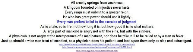 belief versus judgment