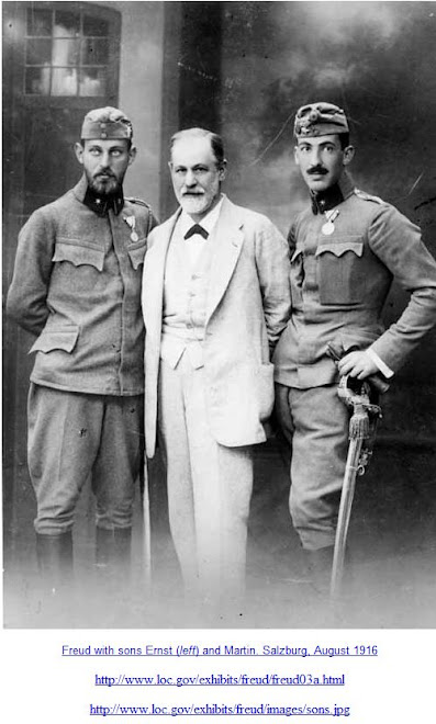 Freud with sons