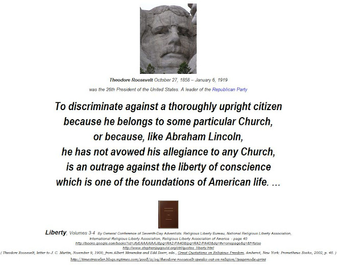 Abraham Lincoln has not avowed his allegiance to any Church