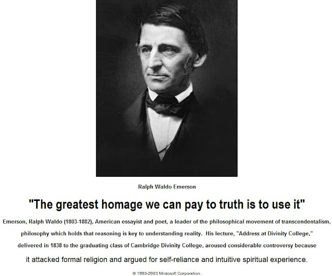 The greatest homage we can pay to truth is to use it