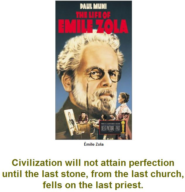 Civilization will not attain perfection