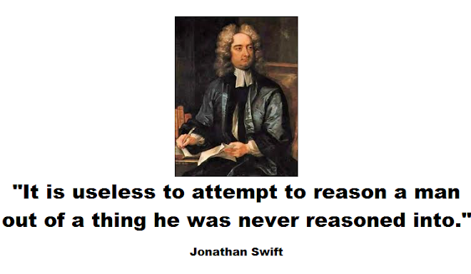 It is useless to attempt to reason a man