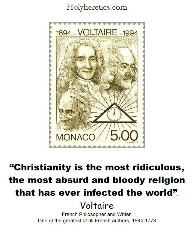 the most absurd and bloody religion