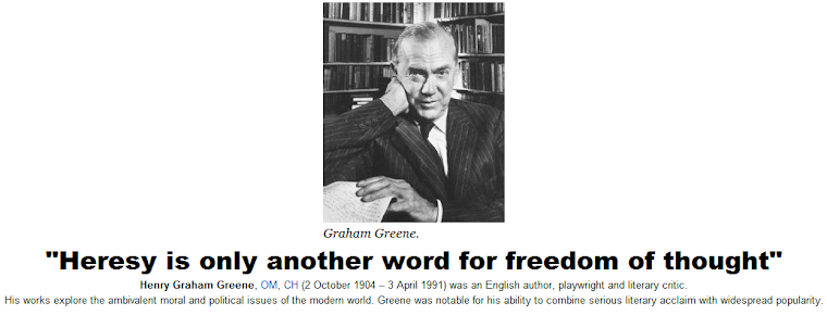 Heresy is only another word for freedom of thought
