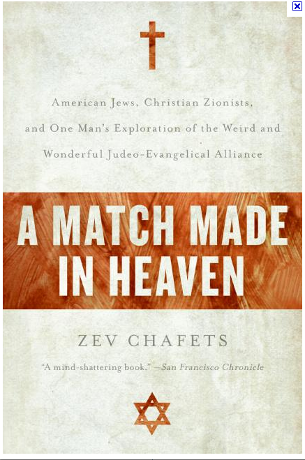 Match Made in Heaven - Right-wing Jews and Christian Zionists.