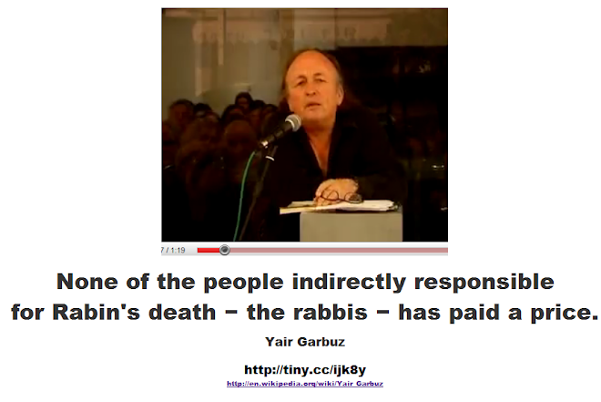 the people indirectly responsible for his death − the rabbis