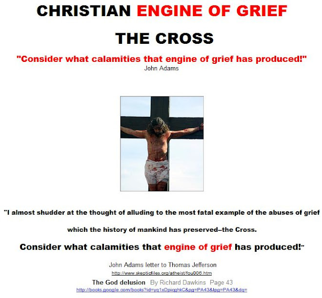 CHRISTIAN ENGINE OF GRIEF - THE CROSS
